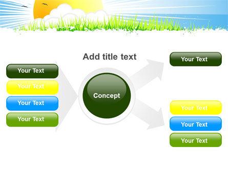 Sunrise Illustration PowerPoint Template Slide 14