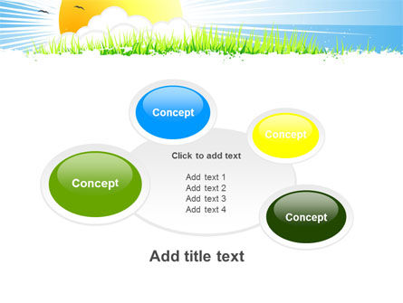 Sunrise Illustration PowerPoint Template Slide 16
