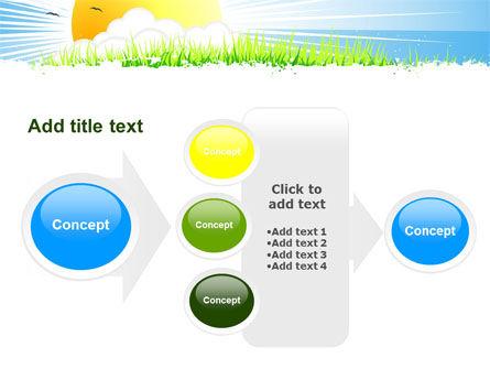 Sunrise Illustration PowerPoint Template Slide 17