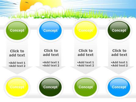 Sunrise Illustration PowerPoint Template Slide 18