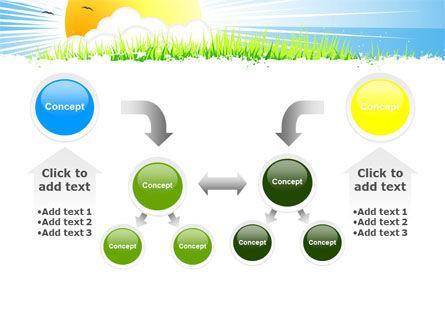 Sunrise Illustration PowerPoint Template Slide 19