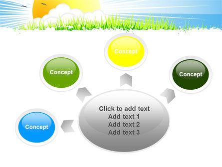 Sunrise Illustration PowerPoint Template Slide 7