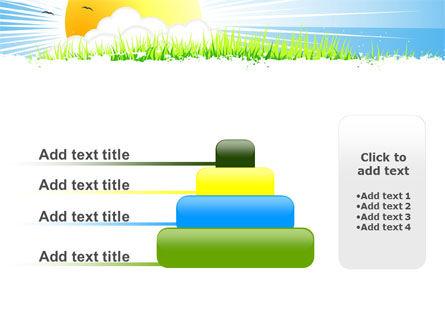 Sunrise Illustration PowerPoint Template Slide 8
