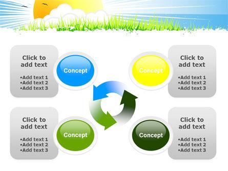 Sunrise Illustration PowerPoint Template Slide 9