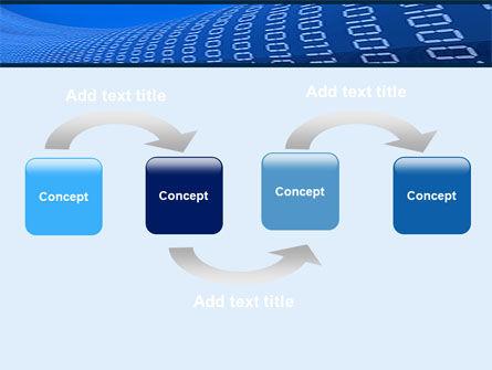 Data Transfer Wave PowerPoint Template Slide 4