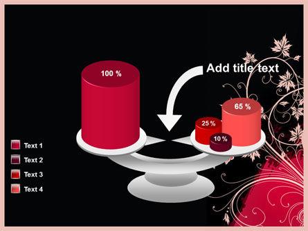 Blooming Pattern PowerPoint Template Slide 10