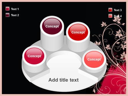 Blooming Pattern PowerPoint Template Slide 12