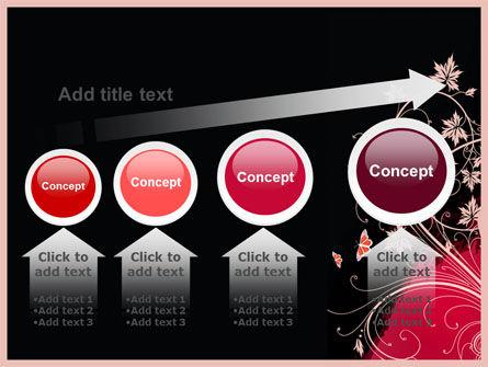 Blooming Pattern PowerPoint Template Slide 13
