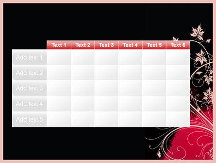 Blooming Pattern PowerPoint Template Slide 15