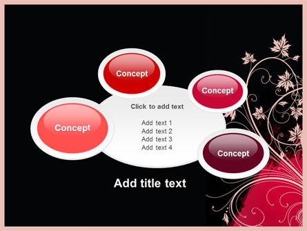 Blooming Pattern PowerPoint Template Slide 16