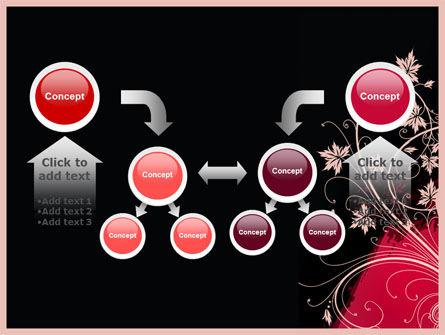 Blooming Pattern PowerPoint Template Slide 19