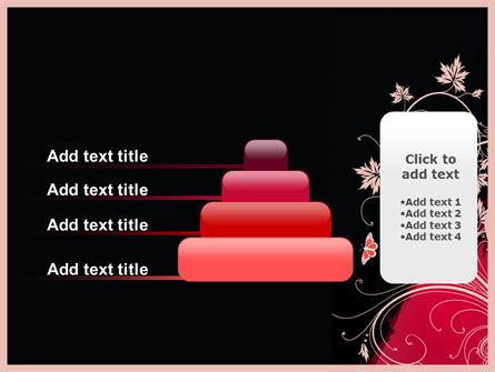 Blooming Pattern PowerPoint Template Slide 8
