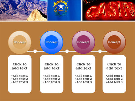 Nevada PowerPoint Template Slide 5