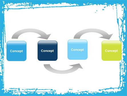 Clouds PowerPoint Template, Slide 4, 05085, Abstract/Textures — PoweredTemplate.com
