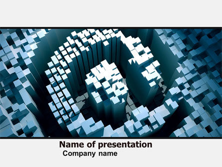 Business Concepts: Computer Grafisch Ontwerp PowerPoint Template #05088