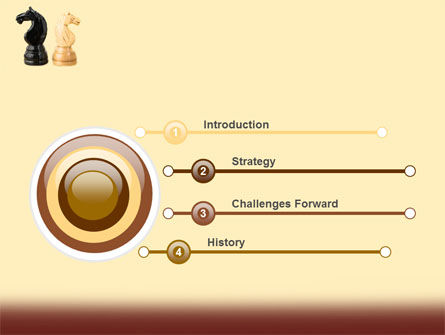 Knight Move PowerPoint Template, Slide 3, 05089, Consulting — PoweredTemplate.com