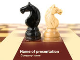 Consulting: Knight Move PowerPoint Template #05089