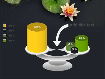 Water Lily PowerPoint Template Slide 10