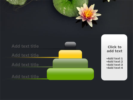 Water Lily PowerPoint Template Slide 8