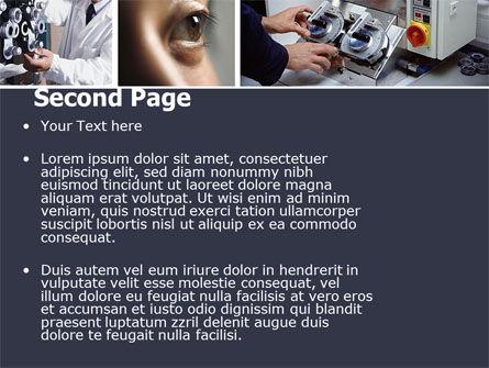 Optometry PowerPoint Template, Slide 2, 05094, Medical — PoweredTemplate.com