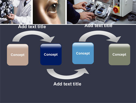 Optometry PowerPoint Template, Slide 4, 05094, Medical — PoweredTemplate.com