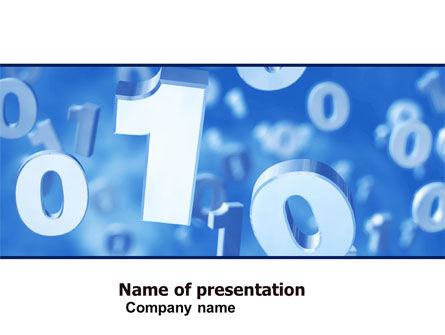 Technology and Science: Plantilla de PowerPoint - cero uno #05095
