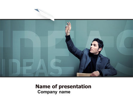 Business: Ideas PowerPoint Template #05096