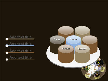 Round Table Meeting PowerPoint Template Slide 12