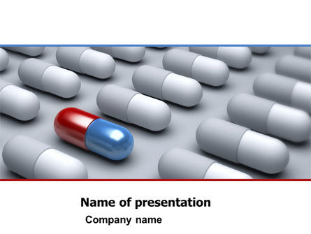pharmacological solution powerpoint template, backgrounds | 05100, Powerpoint templates