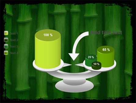 Green Bamboo PowerPoint Template Slide 10
