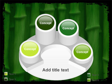 Green Bamboo PowerPoint Template Slide 12