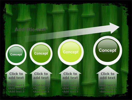 Green Bamboo PowerPoint Template Slide 13