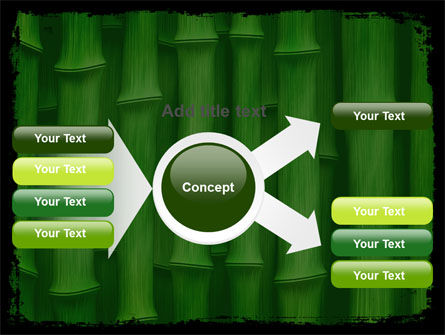 Green Bamboo PowerPoint Template Slide 14
