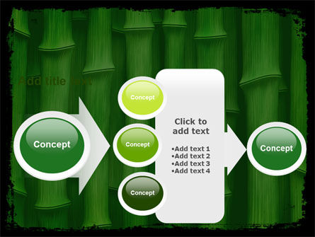 Green Bamboo PowerPoint Template Slide 17