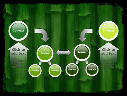 Green Bamboo PowerPoint Template Slide 19