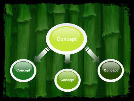 Green Bamboo PowerPoint Template Slide 4