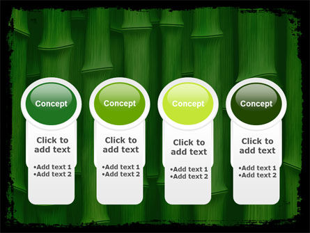 Green Bamboo PowerPoint Template Slide 5