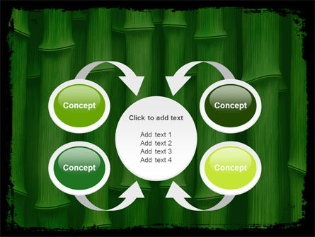Green Bamboo PowerPoint Template Slide 6