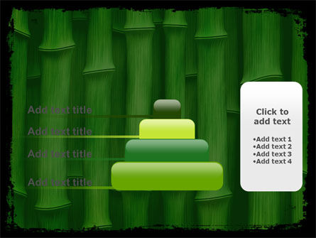 Green Bamboo PowerPoint Template Slide 8
