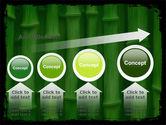 Green Bamboo PowerPoint Template#13