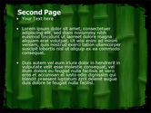 Green Bamboo PowerPoint Template#2