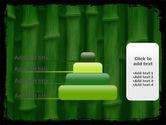 Green Bamboo PowerPoint Template#8