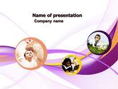 Education & Training: Child Development In Kindergarten PowerPoint Template #05105