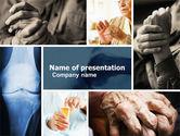 Medical: Krankheiten der gelenke PowerPoint Vorlage #05107
