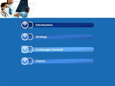 Brain Scan PowerPoint Template, Slide 3, 05108, Medical — PoweredTemplate.com
