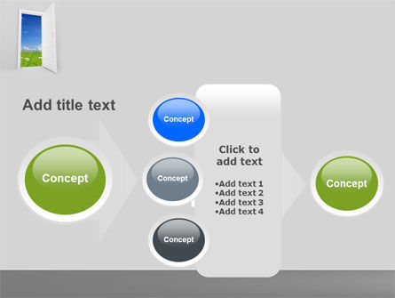 Exit PowerPoint Template Slide 17