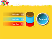Colored Lines PowerPoint Template#11