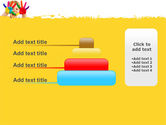 Colored Lines PowerPoint Template#8