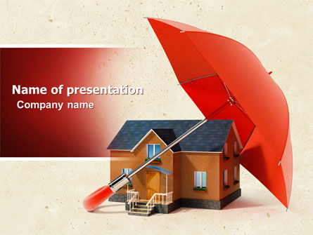 Safe Home PowerPoint Template