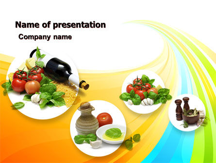 Spicery PowerPoint Template, 05118, Food & Beverage — PoweredTemplate.com